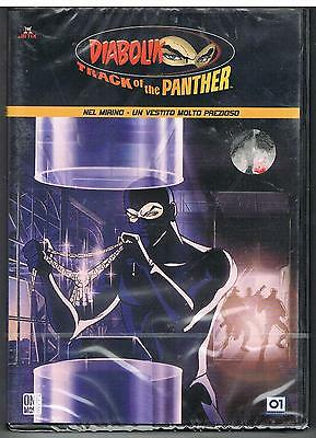 Diabolik  Track Of The Panther  Vol. 6     Dvd Nuovo