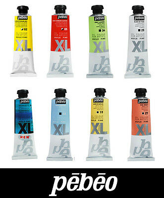 Pebeo Studio XL Artist Oil Paint 37ml Tubes - All Colours Available Incl. Dyna