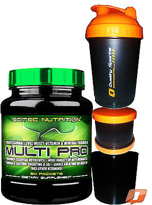 SciTec NUTRITION MULTI PRO PLUS 30 PACKS MINERAL & VITAMIN WIDE VARIETY VITAMINS
