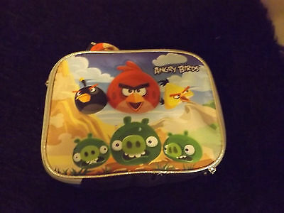 New Angry Birds look out pigs lunch box cool kids school supplies online gamers