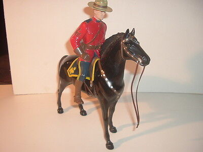 1950's Sargeant Lance O'Rourke Canadian Mountie Hartland Statue Complete Set
