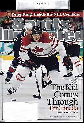 SI SPORTS ILLUSTRATED SIDNEY CROSBY 03 MARCH 08 2010 10
