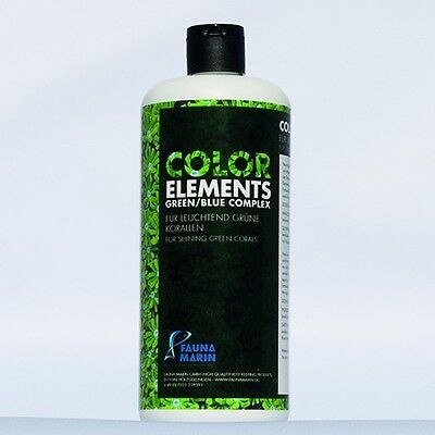 Fauna Marin Color Elements Green Blue Complex 500ml Spurenelemente