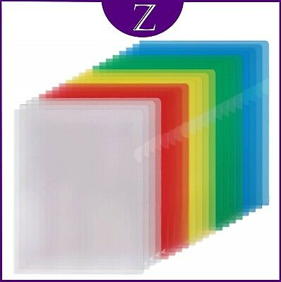 A4 Cut Flush Folders Wallets Choice Of Colours And Quantities With Free Postage