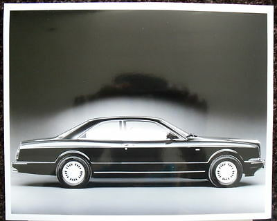 Bentley's Flagship Continental R Press Photograph Black & White 1993