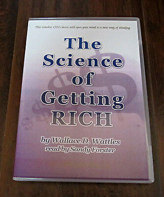 The Science Of Getting Rich By Wallace D Wattles–Read By Sandy Forster-Audiobook