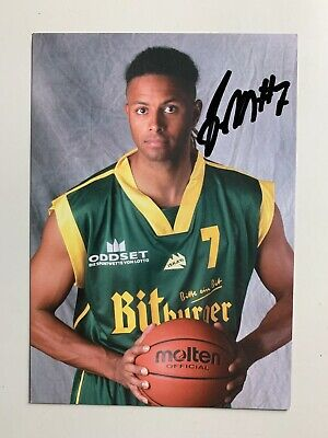 Carte Basket - Tbb Trier - James Marsh / Signe