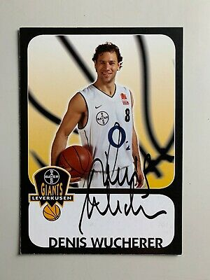 Carte Basket - Giants Leverkusen - Denis Wucherer / Signe