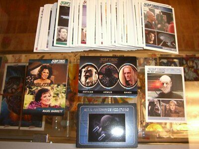 Complete Star Trek The Next Generation Series 1 Mini-Master Set + Parallel - TNG