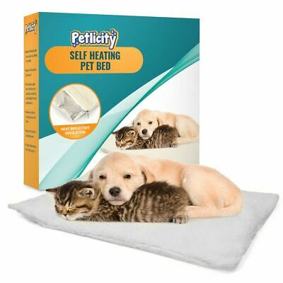 Amazing Magic Self Heating Thermal Cat Dog Puppy Animal Pet Warm Washable Rug