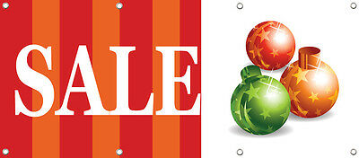 SALE BANNER SIGN, RETAIL STORE SALE SIGNS 96in X 36in Multi Color NEW
