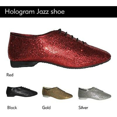 Full Sole Hologram Glitter Jazz Shoes (4Colours)