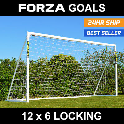 FORZA 12 x 6 Soccer Goal - Ultimate Soccer Goal [Only Goal with a 1yr Warranty]