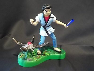 Tenchi Muyo! Masaki And Spaceship Light Up Figure Toy And Base Loose No Box