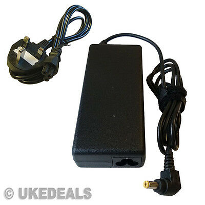 90W Charger for Acer Aspire 5552G 5553G 7741G 5742G 19V + LEAD POWER CORD