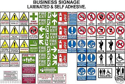 Economy Signs Health Safety Fire Hygiene Warning Caution No Smoking  Flats Shops