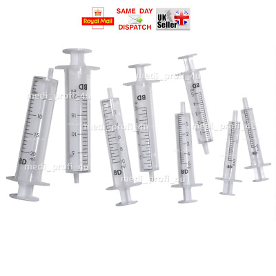 BLUNT NEEDLES with SYRINGES 2 5 10 20ml REFIL KIT SET DISPENSING NO MEDICAL DIY