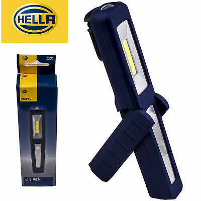 Hella Unipen LED Worklight Torch Light - USB Rechargeable Li-ion, Dual Light
