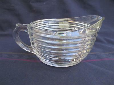 Vintage Deco Anchor Hocking Manhattan Creamer
