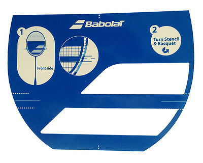 Babolat Badminton Racket String Stencil Card Logo - Free UK P&P