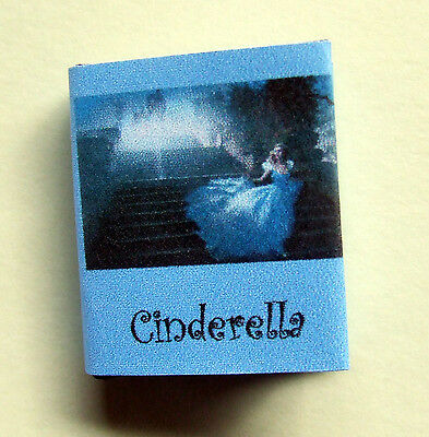 Dollshouse Miniature Book - Cinderella