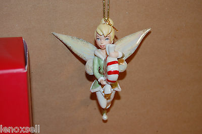 Lenox  2012 Annual Tinkerbell Ornament Peppermint Pixie NEW in Box Disney