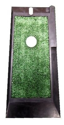 "Golf  Practice Mat - astro turf - chip/drive mat  - rubber mat with tee ""NEW"""