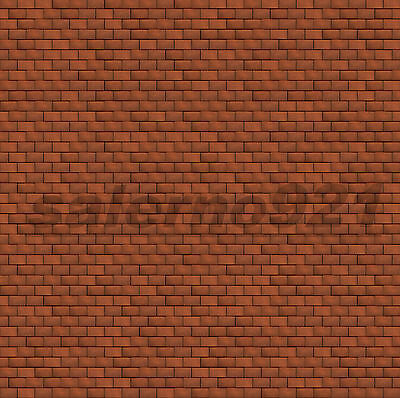 SET #11 OF TWO (2)  BRICK WALLS DECALS  1:24 Scale Diorama NEW!