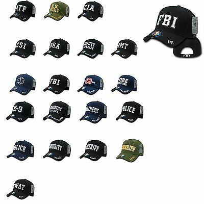 1 Dozen Law Enforcement Agencies Justice USA Baseball Hat Caps Hats Wholesale