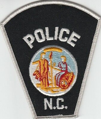 NORTH CAROLINA  POLICE SHOULDER PATCH