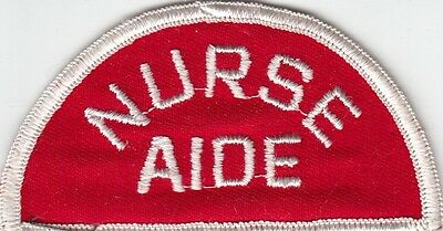 NURSE AIDE - MEDICAL PATCH on RED