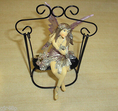 Faeries Of The Enchanted Forest By Regency Faerie Secret Swing Fairy Figurine