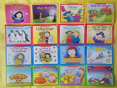 Childrens Books Lot 16 Scholastic Learn to Read Early Beginning Readers Set NEW