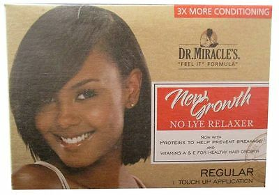 Dr Miracles Touch Up Relaxer Kit Regular