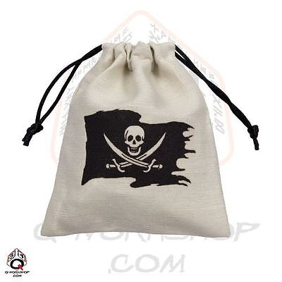 PIRATE DICE BAG linen by Q-workshop for RPG