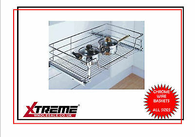 KITCHEN CHROME WIRE Basket to suit 450mm, Pull Out Storage ... on how to wire a room, bedroom photography diagram, rewiring a living room diagram, how to diagram a room,