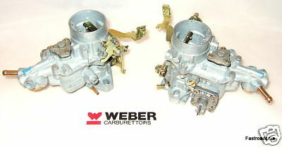 Vw Beetle.buggy Air Cooled Engines Weber 34 Ich Carbs/carburettors Pair