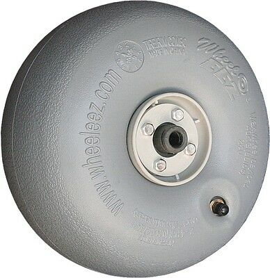 """Wheeleez 24cm (9.4"""") Grey Wheel - soft pneumatic tire for sand or soft surface"""