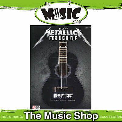 "New ""Best of Metallica for Ukulele"" Music Book"