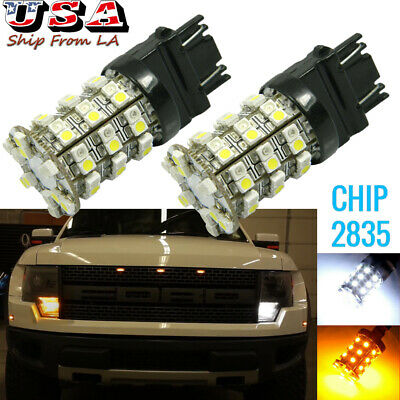A Pair of New Dual Color LED Blinker 3157 3357LL 3457ALL Turn Signal Lights