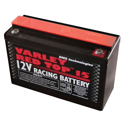Varley Red Top 15 Battery 12V 13Amp 5.4Kg Endurance & Rally Btcc Wrc Ginetta