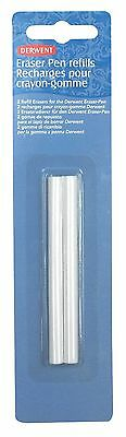 Derwent Eraser Pen Refills Replacements Pack of 2