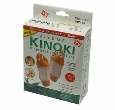 100 x Kinoki Detox Foot Pad Patches Remove Harmful Body Toxins Health Patch UK