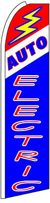 Auto Electric Swooper Flag (3ft x 11.5ft)