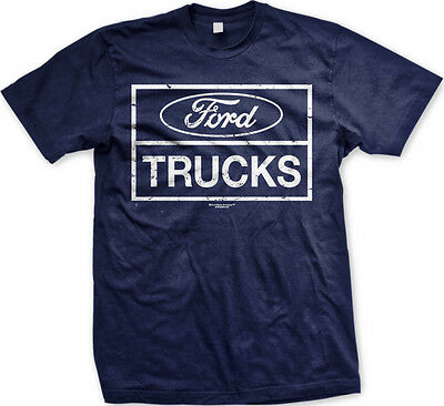 Ford Trucks Muscle Built Tough Strong Licensed FREE SHIPPING New Mens T-shirt