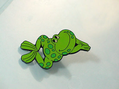 Frog Pin Badge Swiming   Diving ( x- lg)