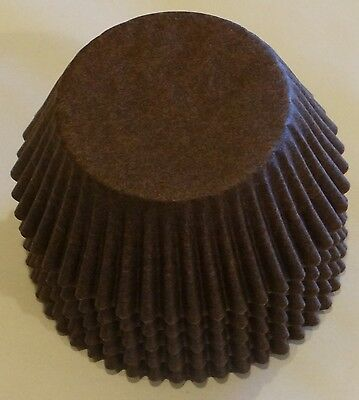 50 Brown Cupcake Liners Baking Cups STANDARD SIZE BC-30-50 NEW