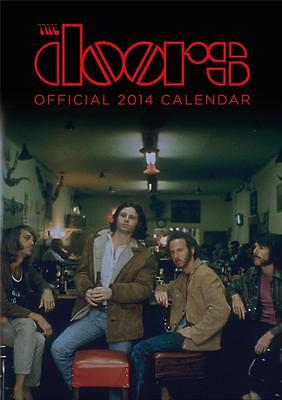 The Doors Jim Morrison Official 2014 Uk Wall Calendar Brand New And Sealed