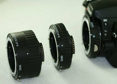 Macro Automatic Extension Tube Set For Nikon 105mm 60mm 18-55mm 180mm 55-300mm