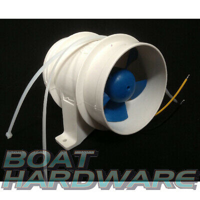 GENUINE Rule In-Line Bilge Blower75mm Compact Heavy Duty